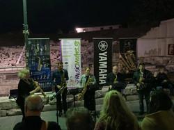 with the Quirk Saxophone Quartet