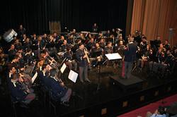 with Athens Municipal Band