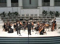 with Louisiana Sinfonietta,USA