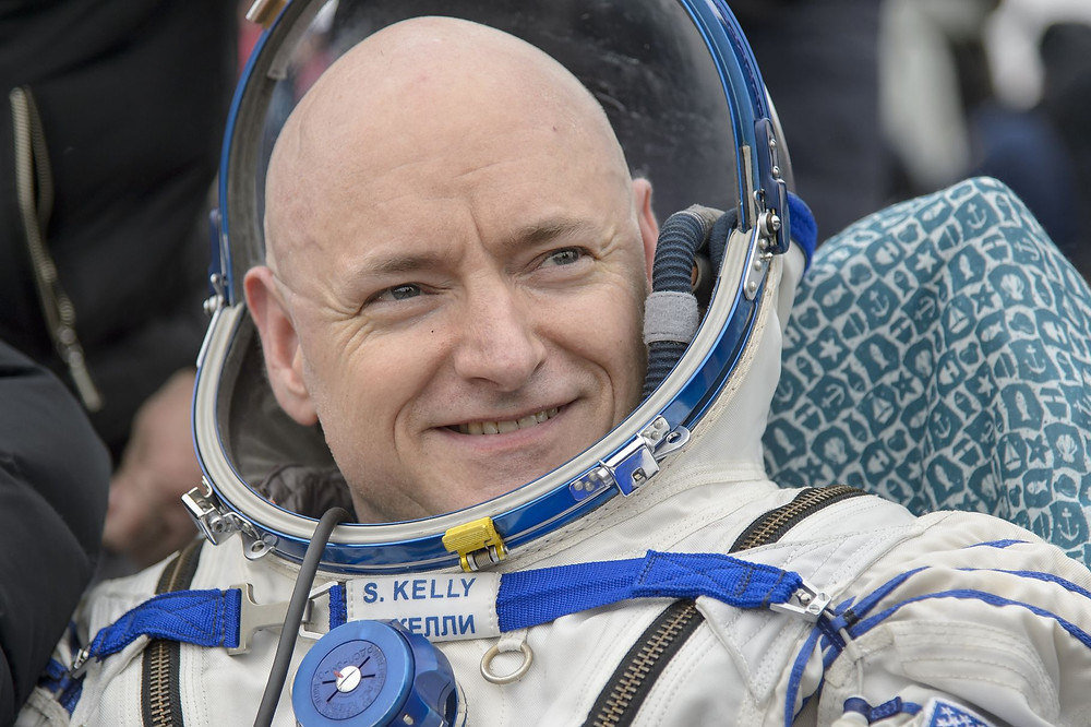 Scott Kelly Astronaut Smiling Before a Shuttle Launch (Credit: Vox)