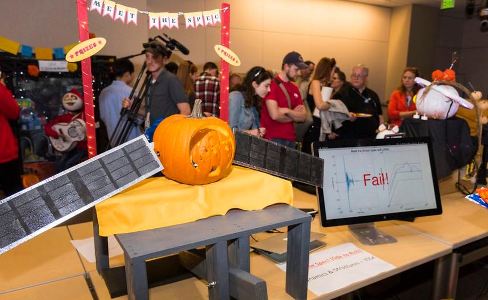 JPL Satellite Pumpkin (Source: CNET)