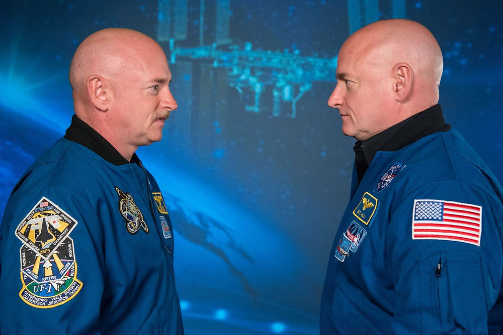 Scott and Mark Kelly, NASA Astronaut Twins (Credit: The Verge)