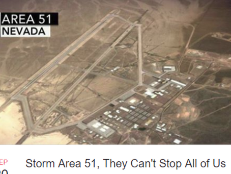 Raid on Area 51? Nearly 500k Sign Up for an Alien Heist