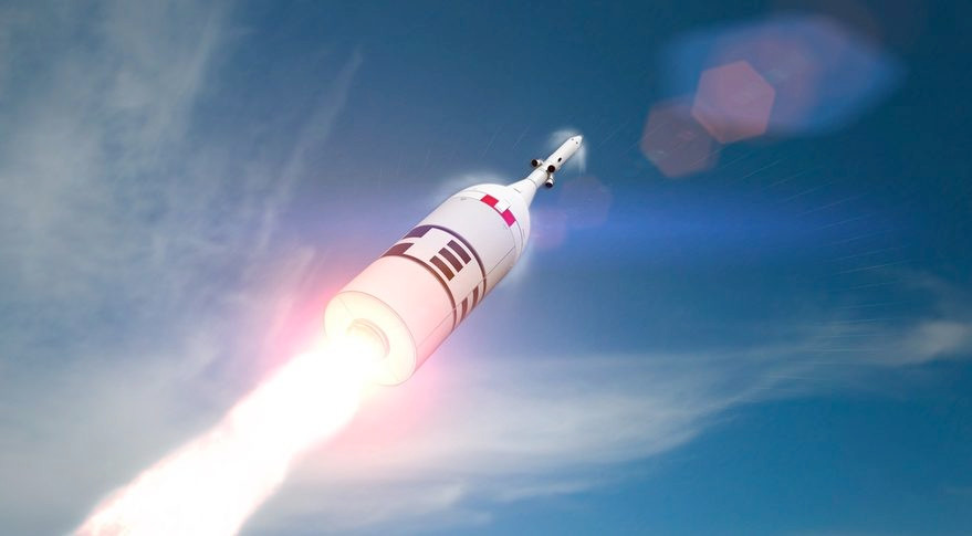 """The scientists at NASA have developed a special type of """"abort mission"""" system that could save astronauts in a launch gone wrong! (Credit: SpaceNews)"""