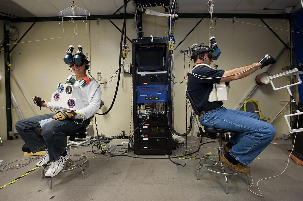 NASA Meeting in Virtual Reality (Source: NASA)