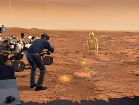 Augmented, Virtual Reality Is Helping Us Explore Mars In Our Backyard