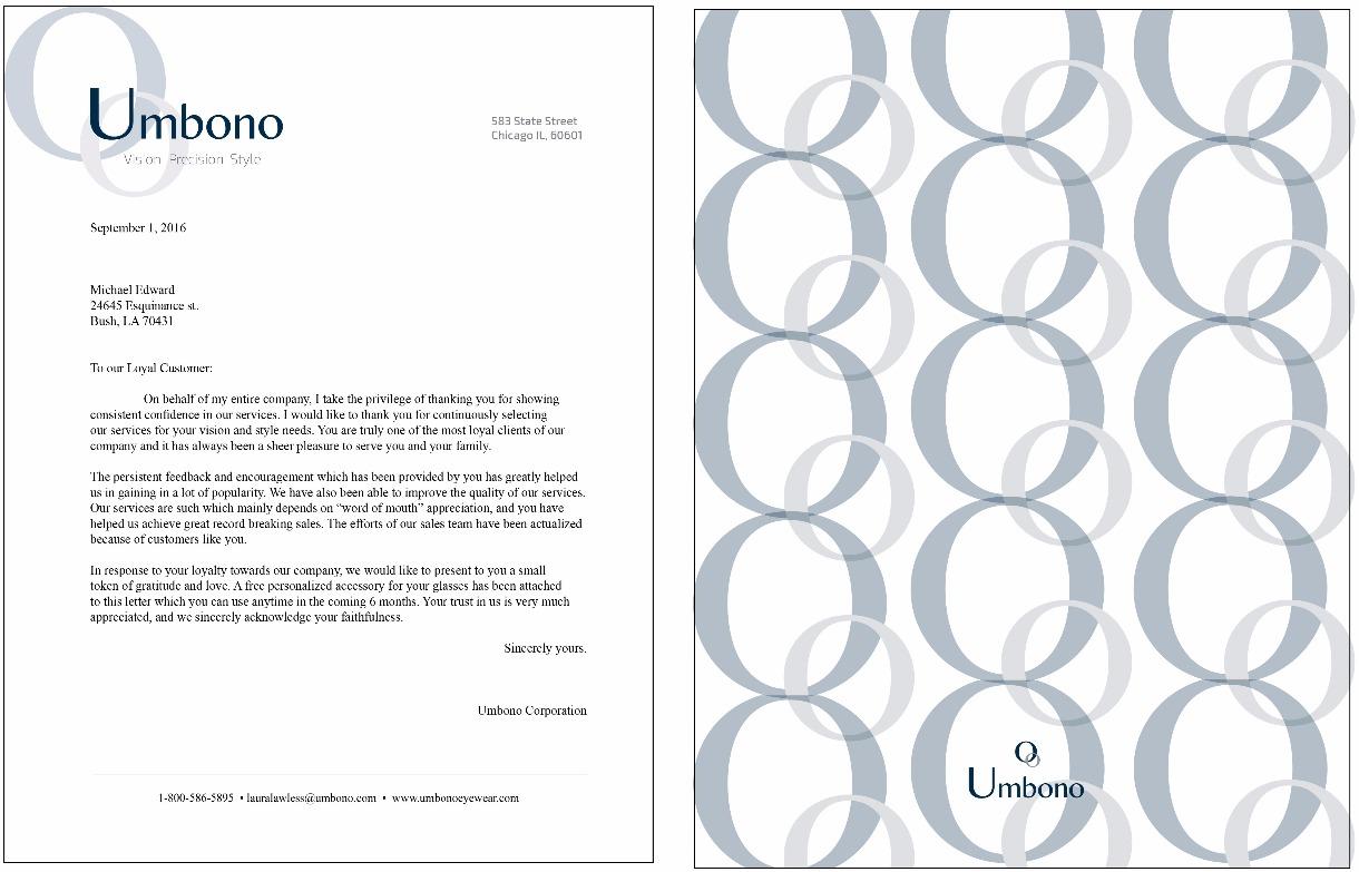 Company Letterhead