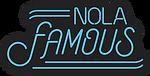NOLA Famous Logo_BlackBlueOutline_Vertic