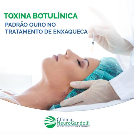 Toxina Botulínica: padrão ouro do tratamento da enxaqueca