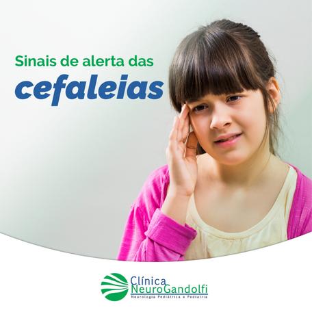 Sinais de alerta das cefaleias