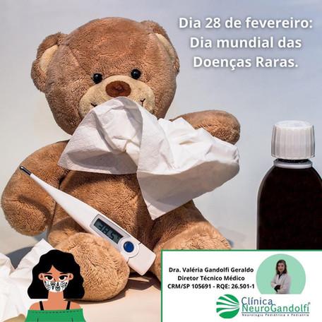 🧬Dia 28 de fevereiro: Dia mundial das Doenças Raras.