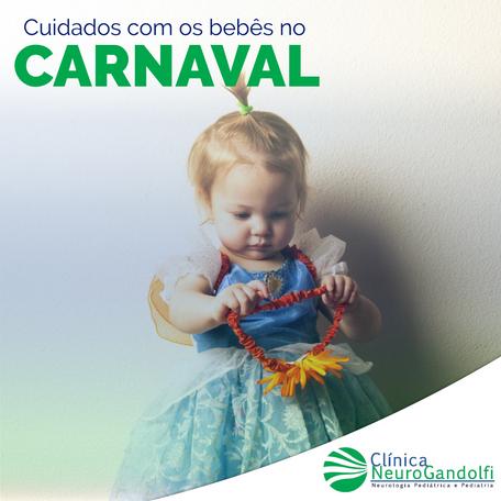 Cuidados com os bebês no Carnaval