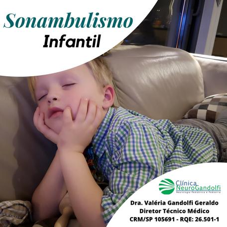 Sonambulismo Infantil
