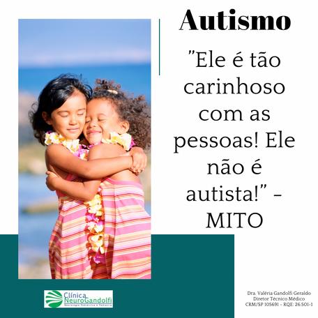 """Autismo: """"Ele é tão carinhoso com as pessoas! Ele não é autista!"""" - MITO"""
