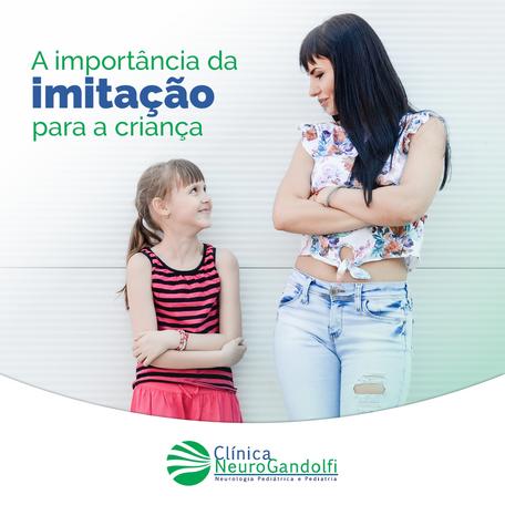 A importância da imitação na criança