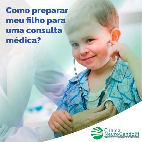 Como preparar meu filho para uma consulta médica?