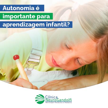 Autonomia é importante para aprendizagem infantil?