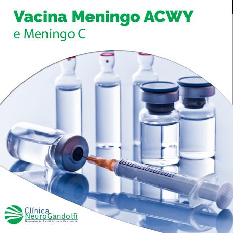 Vacina Meningo ACWY e Meningo C