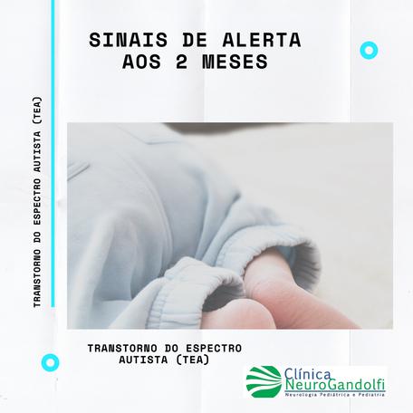 Sinais de Alerta de Autismo aos 2 meses