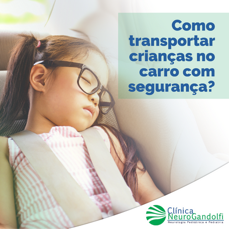 Como transportar crianças  no carro com segurança?