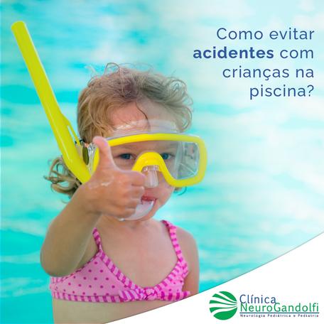 Como evitar acidentes com crianças na piscina?