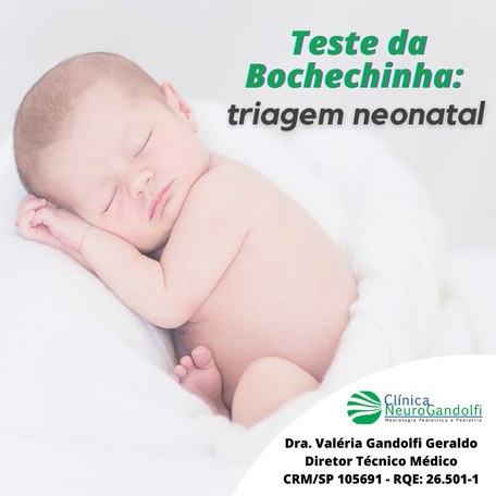 Teste da Bochechinha: triagem neonatal