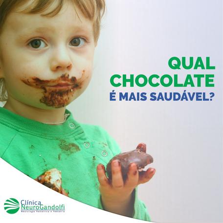 Qual é o chocolate mais saudável?