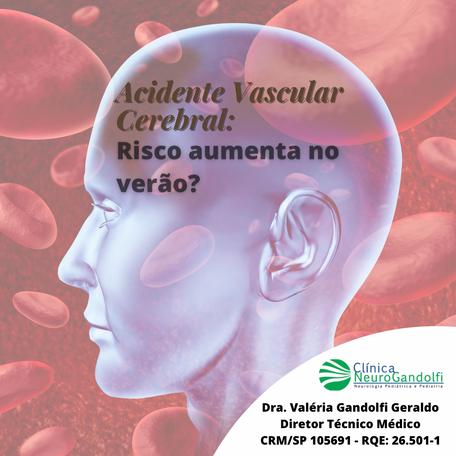 Risco de Acidente Vascular Cerebral Isquêmico aumenta no verão?