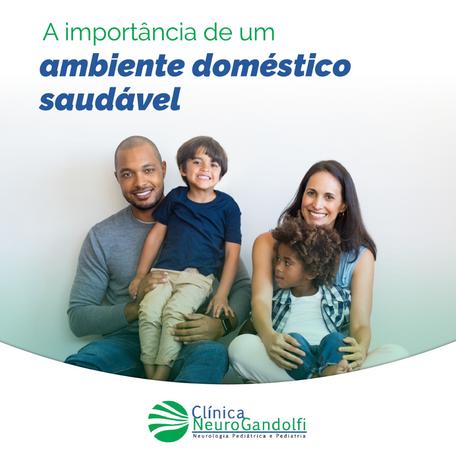 A importância de um ambiente doméstico saudável!