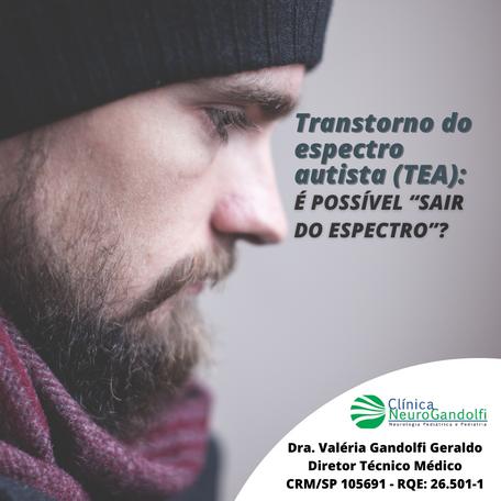 """Transtorno do espectro autista (TEA): é possível """"sair do espectro""""?"""