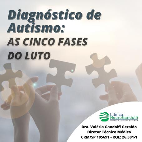 Diagnóstico de Autismo: As Cinco Fases do Luto