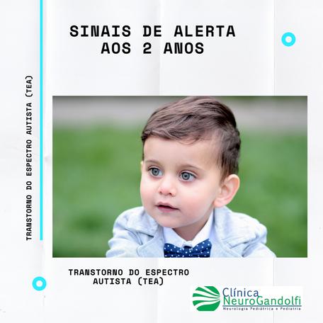 Sinais de alerta de Autismo aos 2 anos