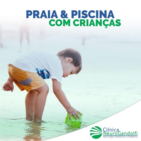 Praia & Piscina com crianças