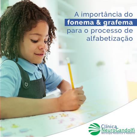 Qual a importância do fonema e do grafema para o processo de alfabetização?