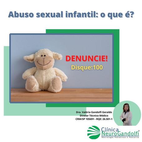 Abuso sexual infantil: o que é?