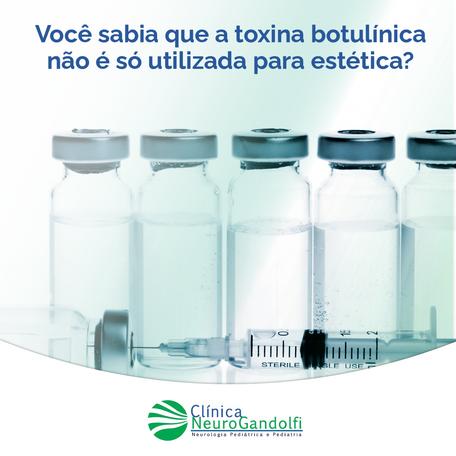 Você sabia que a toxina botulínica não é só utilizada para estética?