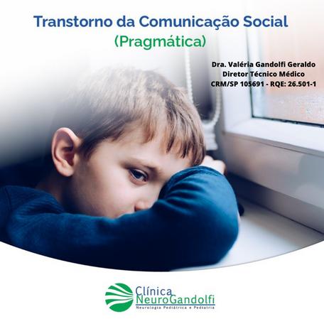 O que é Transtorno da Comunicação Social Pragmática?