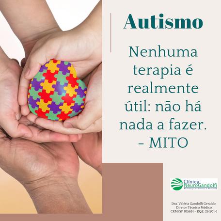 ABA é a intervenção com maior evidência científica para Autismo.
