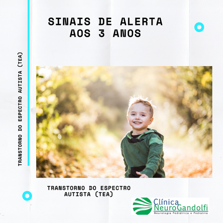 Sinais de Alerta de Autismo aos 3 anos