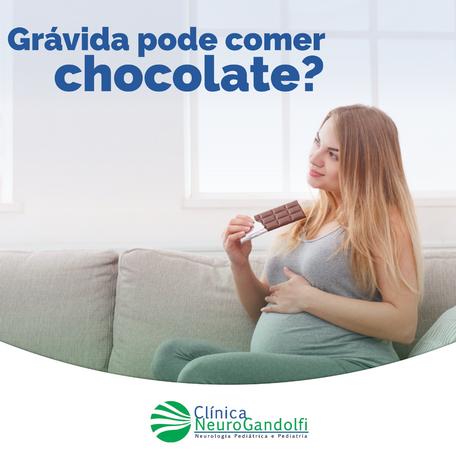 Gravida pode comer chocolate?
