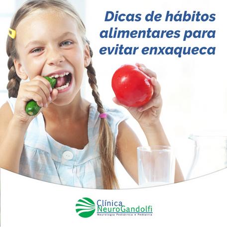Dicas de hábitos alimentares para evitar enxaqueca.
