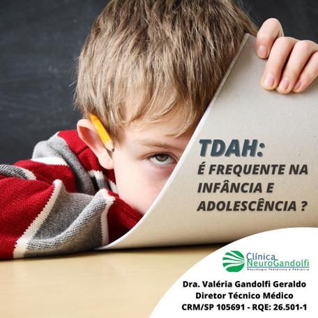 TDAH: É frequente na infância e adolescência?