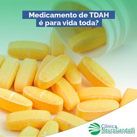 Medicamento de TDAH é para vida toda?