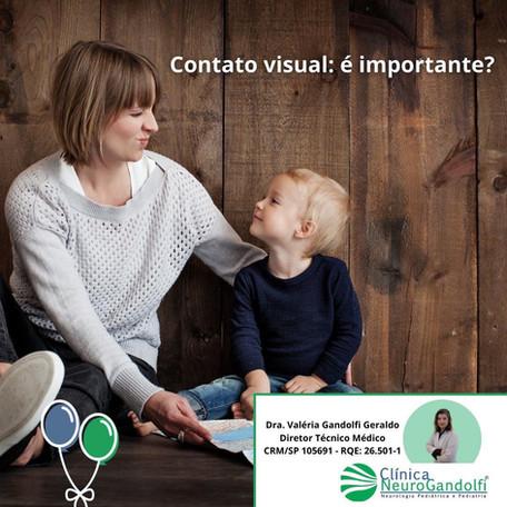 📌Contato visual: é importante?