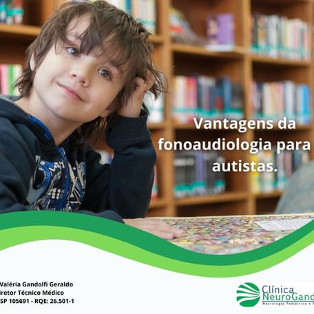 Vantagens da fonoaudiologia para os autistas.