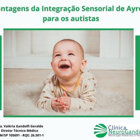 Vantagens da Integração Sensorial de Ayres para os autistas.