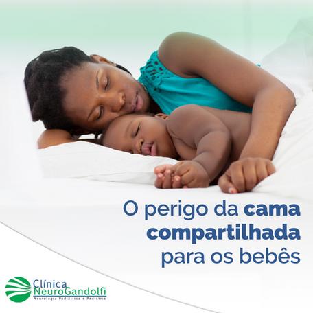 O perigo da cama compartilhada para os bebês!
