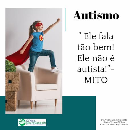 """Autismo: """" Ele fala tão bem! Ele não é autista!""""- MITO"""
