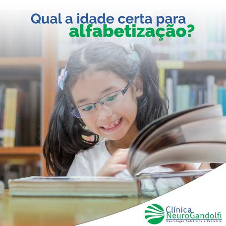 Qual a idade certa para alfabetização?