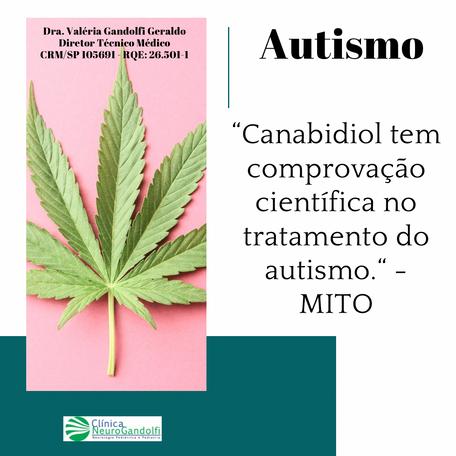 Canabidiol NÃO tem comprovação científica no tratamento do autismo!